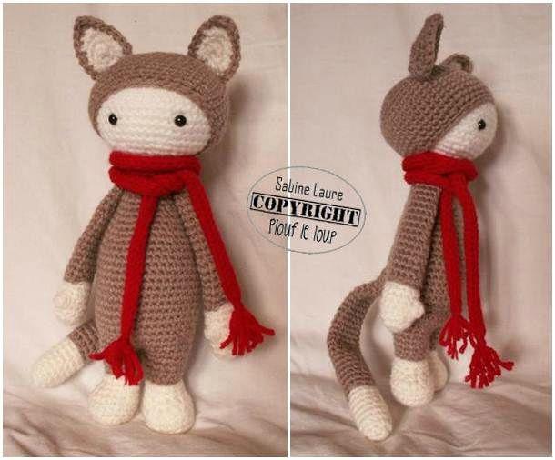 Amigurumi New York : amigurumi chat chaton tutoriel crochet en francais ...