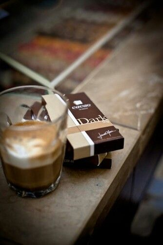 Espresso And Dark Chocolate Mmm One Of Life S Best Combinations