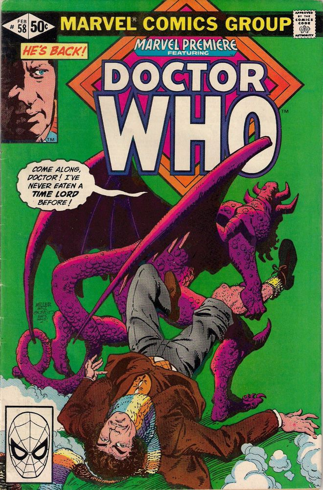 Dave Gibbons Doctor Who