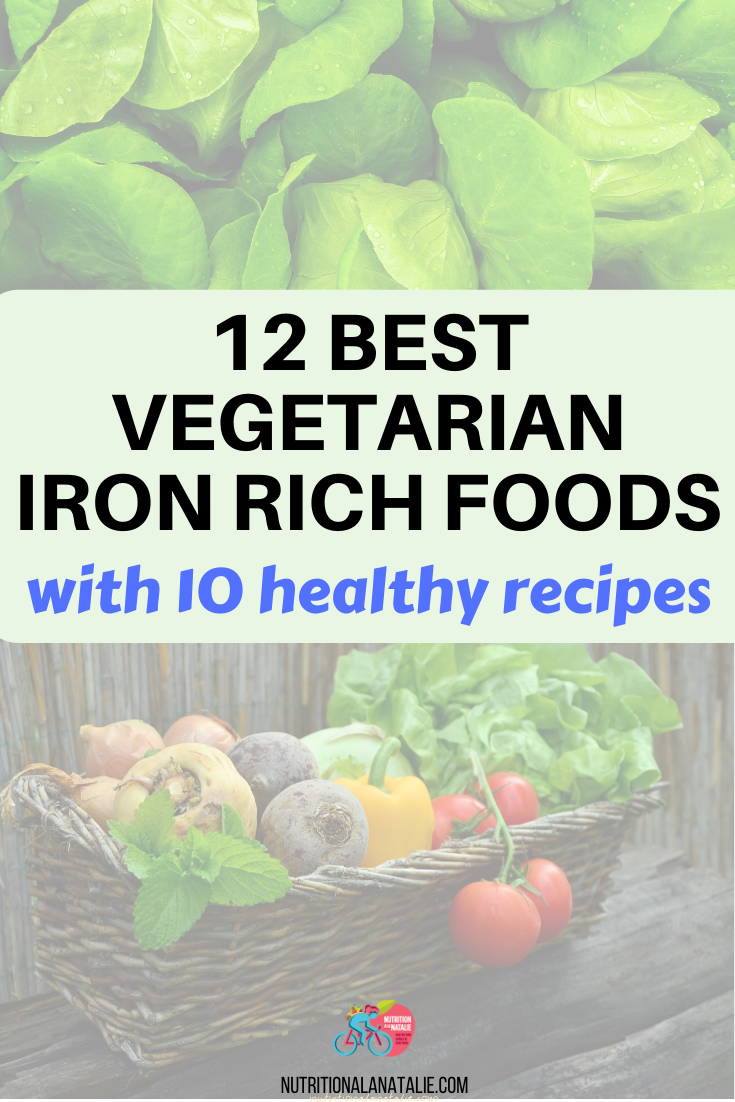 12 Plant Based Sources of Iron in 2020 Vegetarian iron
