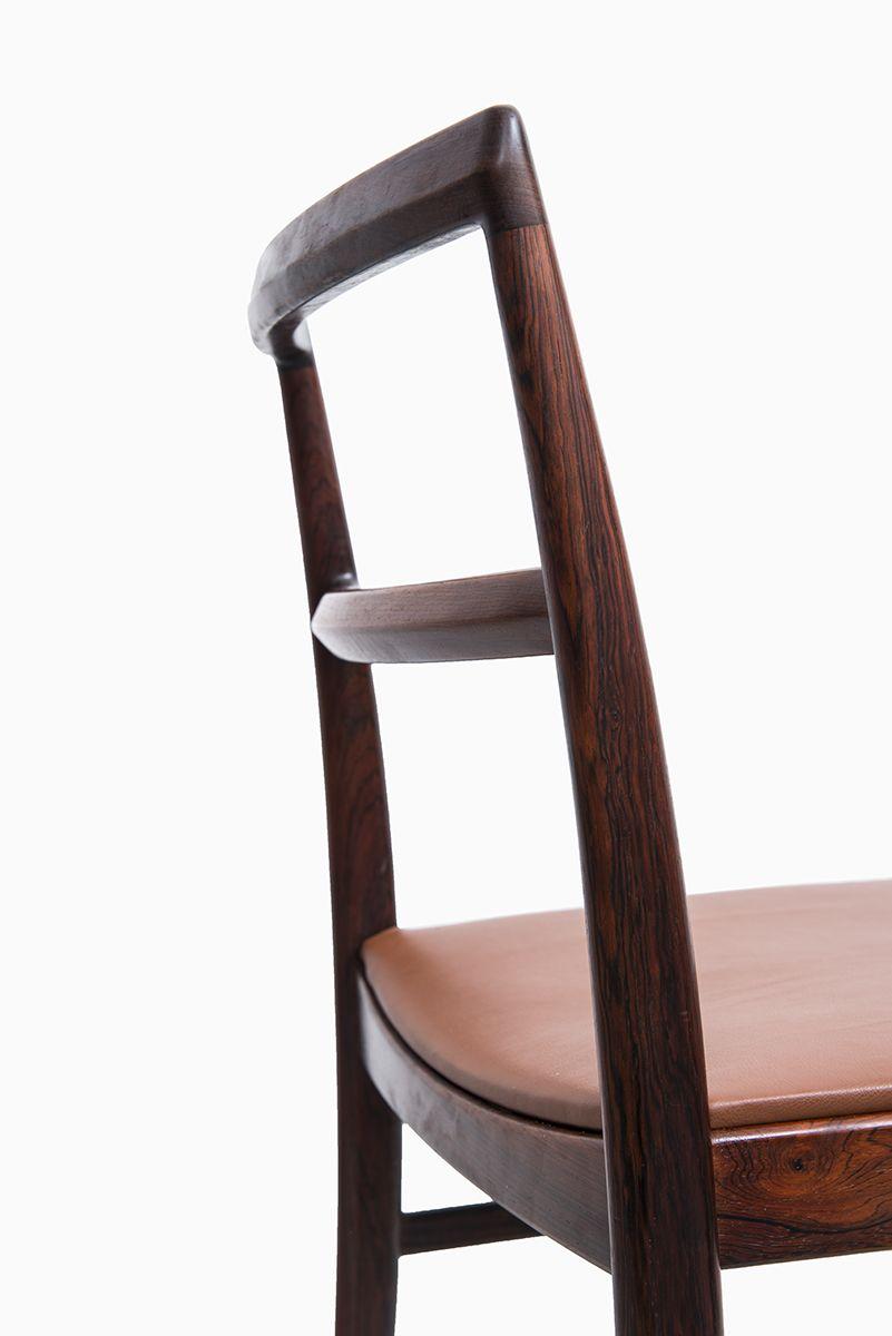 Arne Vodder dining chair model 430 in rosewood by Sibast at Studio Schalling #midcenturymodern #vodder