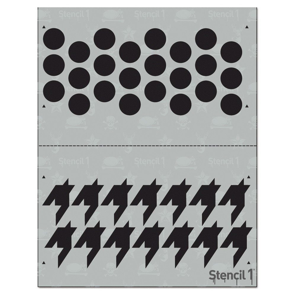 Stencil1 houndstooth repeating stencil 85 x 11 white products stencil1 houndstooth repeating stencil 85 x 11 amipublicfo Image collections