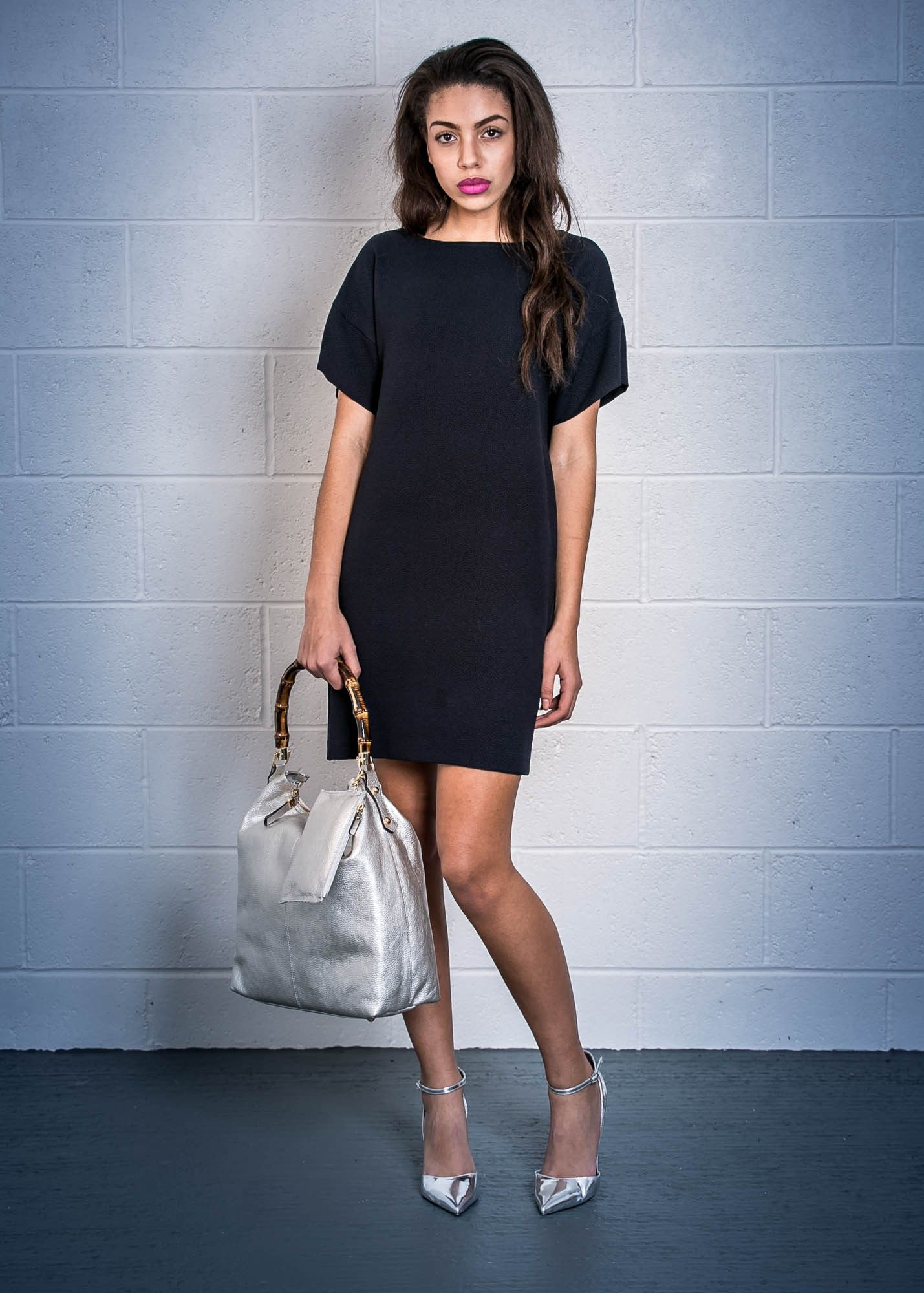 Women's Fashion Boutique in Sheffield | Ottod'Ame Navy Shift Dress - Clothing