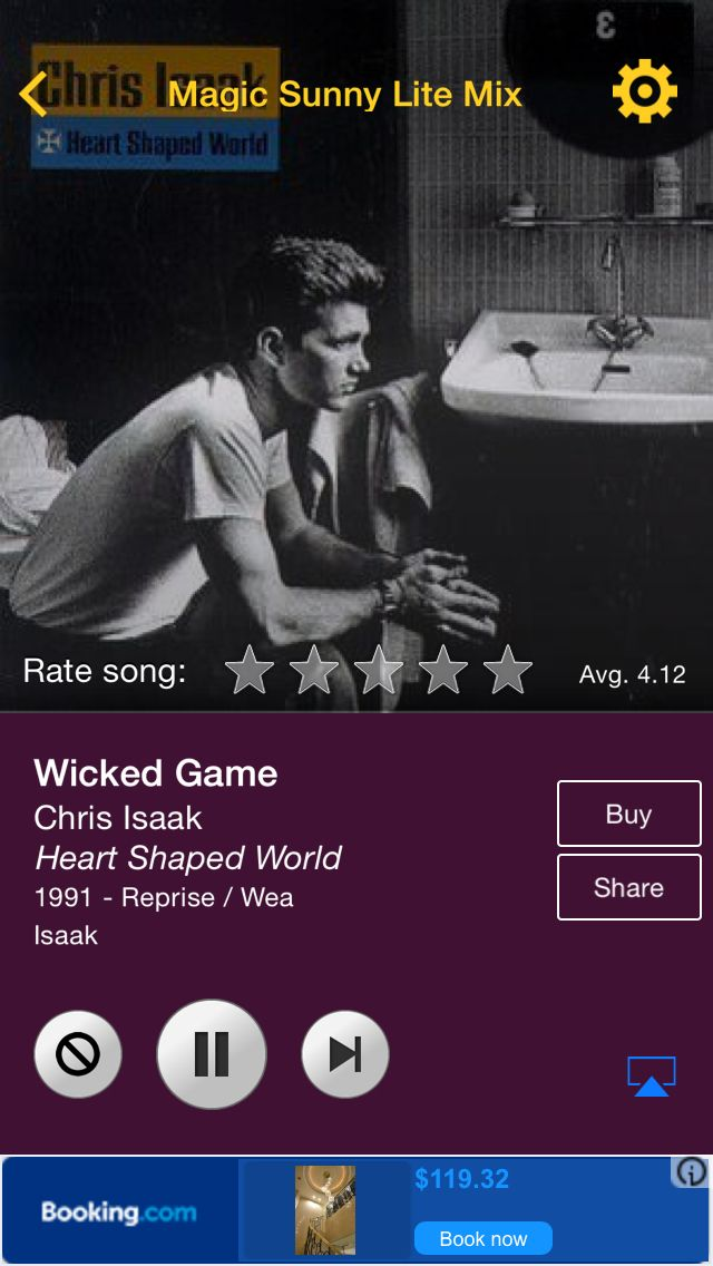 Wicked Game by Chris Isaak on AccuRadio