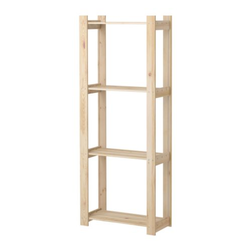 ALBERT Shelving unit, pine softwood in 2019 | to buy | Ikea
