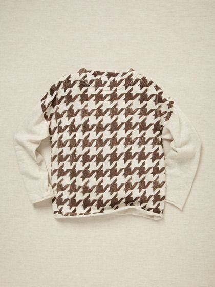 kicokids Unisex Herringbone Pullover