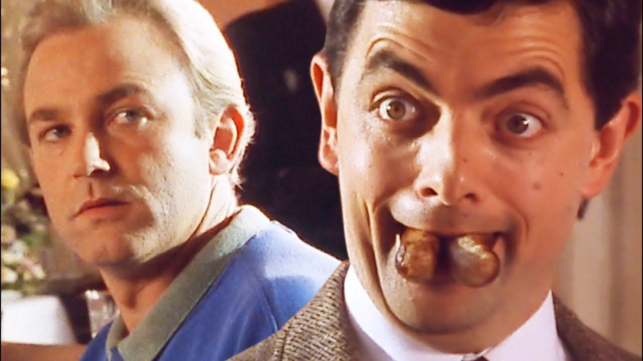 Sausage Bean Try Not To Laugh Funny Clips Mr Bean Official Mr Bean Try Not To Laugh Funny Clips