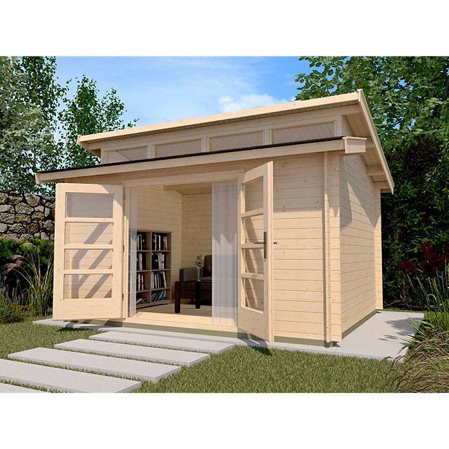 Weka Gartenhaus 158 Gr.2, 28 mm, mit 4 Oberlichtern Weka