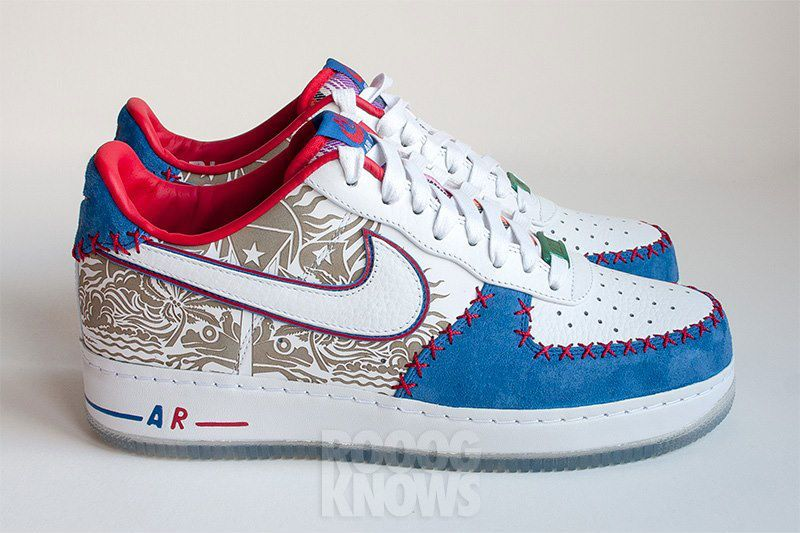 new style cc43f c921d Nike Air Force 1  Puerto Rico