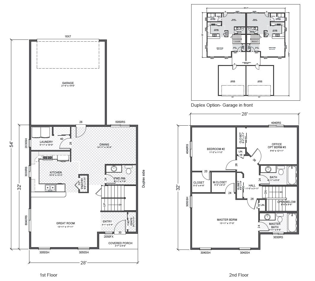 ranier home plan multi level two story home built on your lot - Multi Level Home Plans