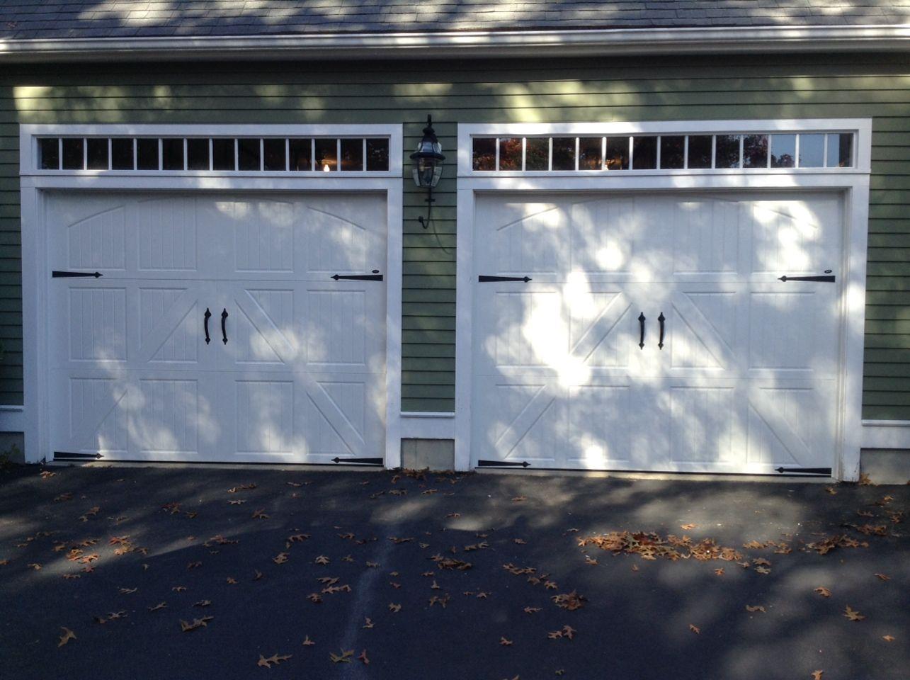 Photo New Carriage House Garage Doors in Marshfield by Goodrow Door Solutions. 781 & Photo: New Carriage House Garage Doors in Marshfield by Goodrow ...