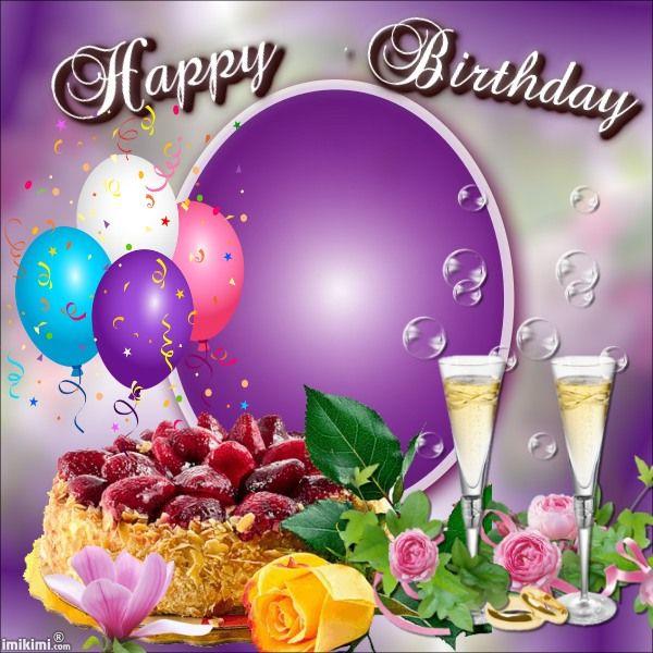 Happy Birthday Photo frame birthday Pinterest Happy birthday - birthday wish template