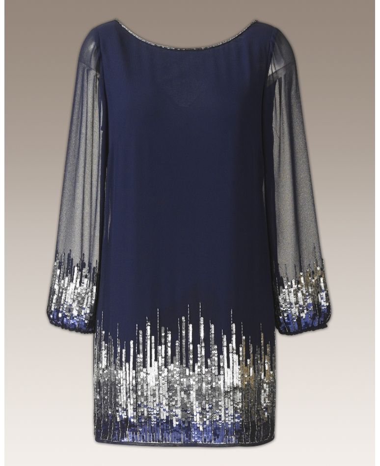 Simply Be Womens Joanna Hope Embellished Tunic