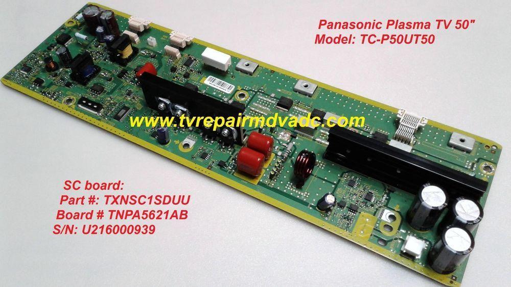 Panasonic TC-P50UT50  SC Board: TXNSC1SDUU (7 blinks