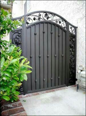 Porton Iron Fence Gate Iron Garden Gates Iron Gate Design