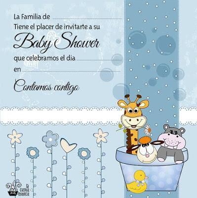 10 Invitaciones Para Baby Shower Niña Y Niño Plantillas De