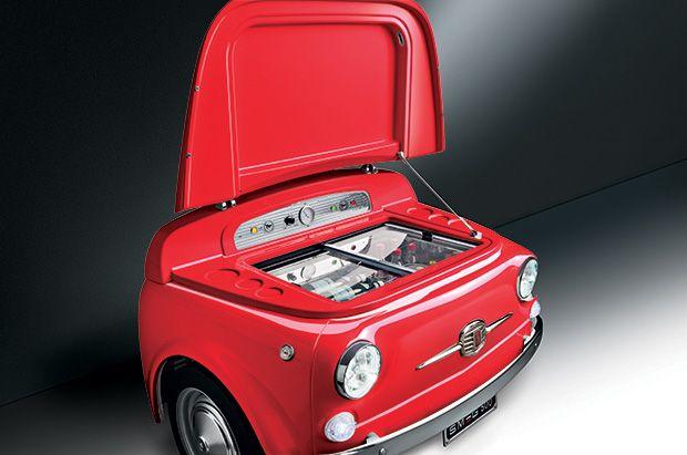 Smeg Fiat 500 Refrigerator One Day Pinterest Refrigerator