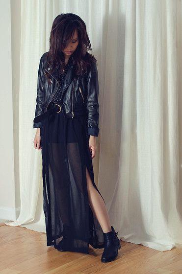 H&M Jacket, Madewell Belt, Forever 21 Skirt, Ivanka Trump Boots