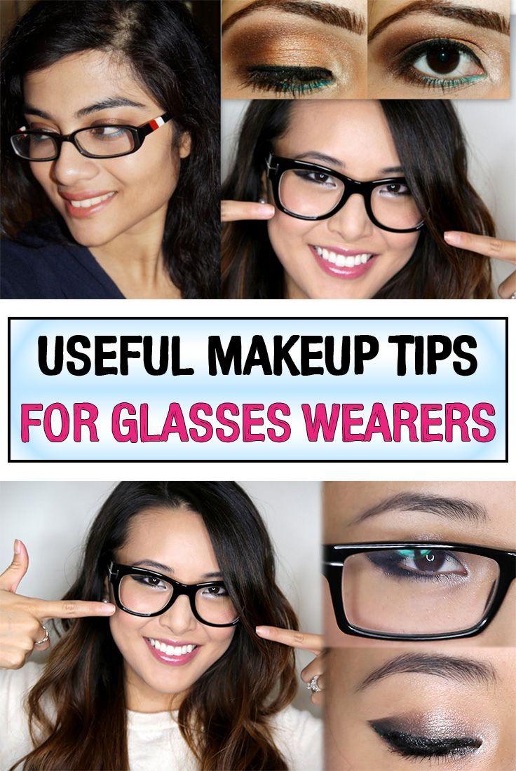 Useful Makeup Tips for Glasses Wearers Schminke mit