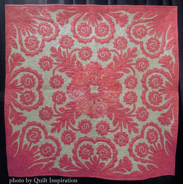 Hawaiian quilts by Japanese masters | Hawaiian Quilt Inspiration ...