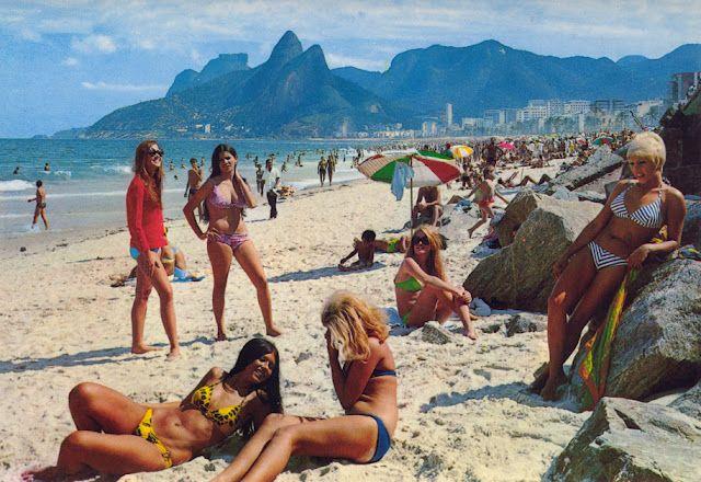 Rio De Janeiro, Brazil (1960s) | Surfing, Beach, Rio de janeiro