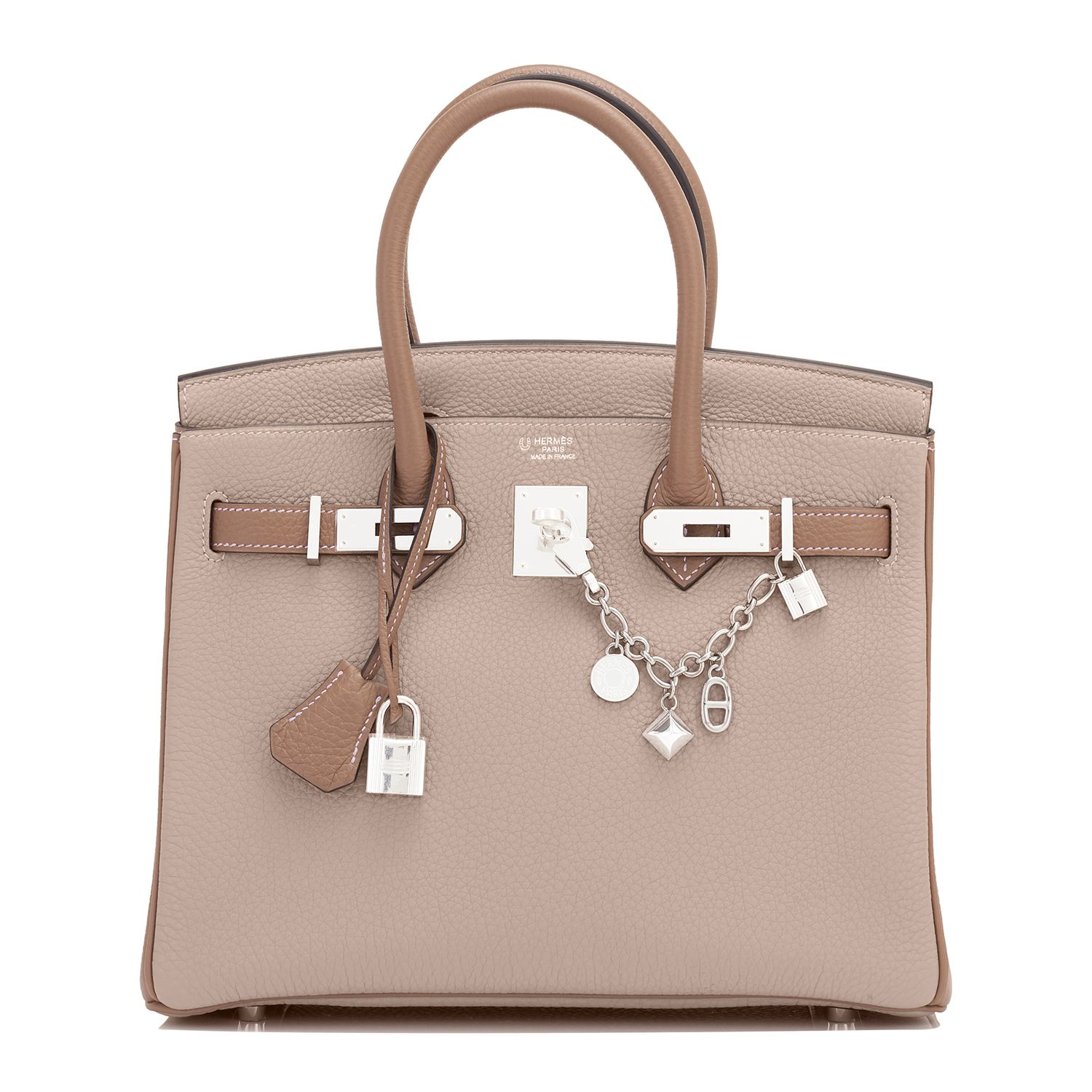 01b08825ab00  Hermes  Birkin  Bag HSS Gris Tourterelle and Etoupe Palladium Hardware