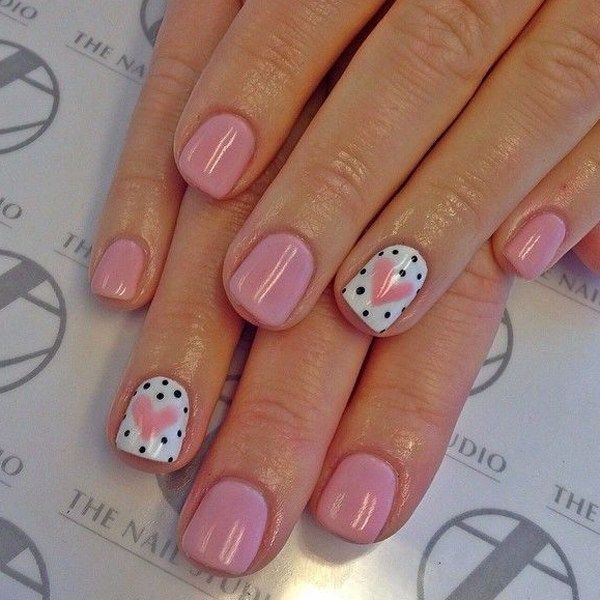 Valentine's Nail Ideas From Pinterest