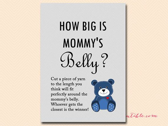 How Big Is Mommy S Belly Guess The Size Of Mommy S Tummy Teddy