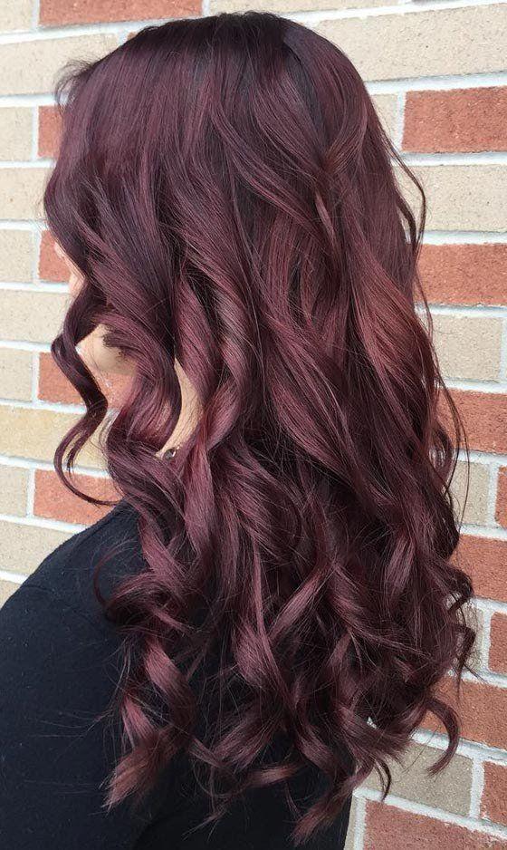 20 Magical Mahogany Hair Color Ideas Hair Styles