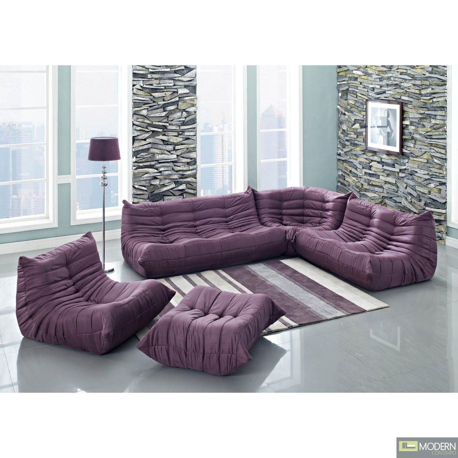 Waverunner Modular Sectional Sofa Inspired By Ligne Roset Togo