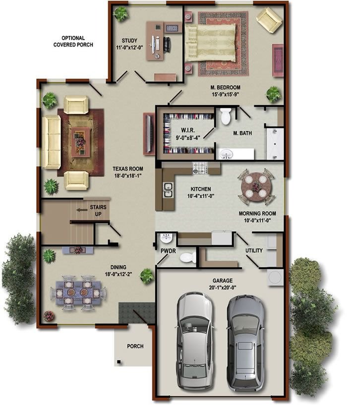 Accessories The Splendid Optional Covered Porch Teend Room Dining And Garage Floor Plans Make Your Own Floor Plan In A Smart Phone Make Yo