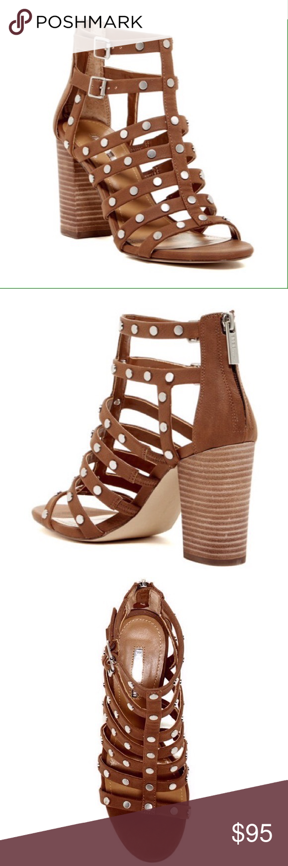 ☂BCBGENERATION Brown Cage Style Platform Heels These are brand new with original box and packaging.  These have never been worn.  They are in perfect condition! BCBGeneration Shoes Platforms