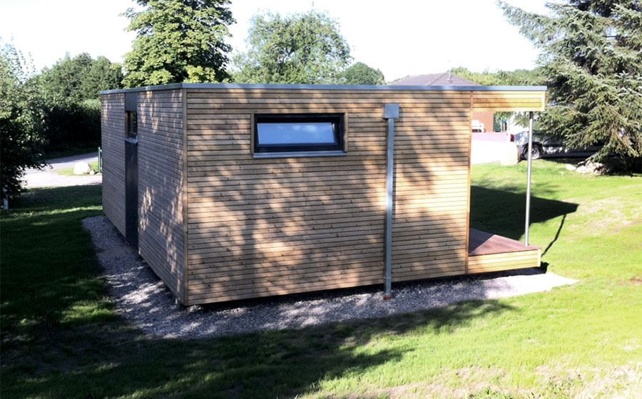 Cubig containerhaus holzhaus modul house small house for Modul container haus