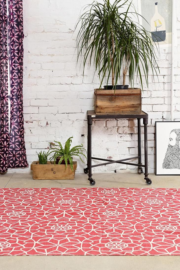Magical Thinking Star Tile Rug #urbanoutfitters
