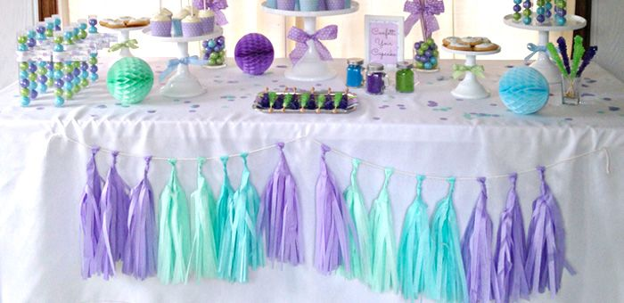 Confetti Themed 12th Birthday Party via Karas Party Ideas