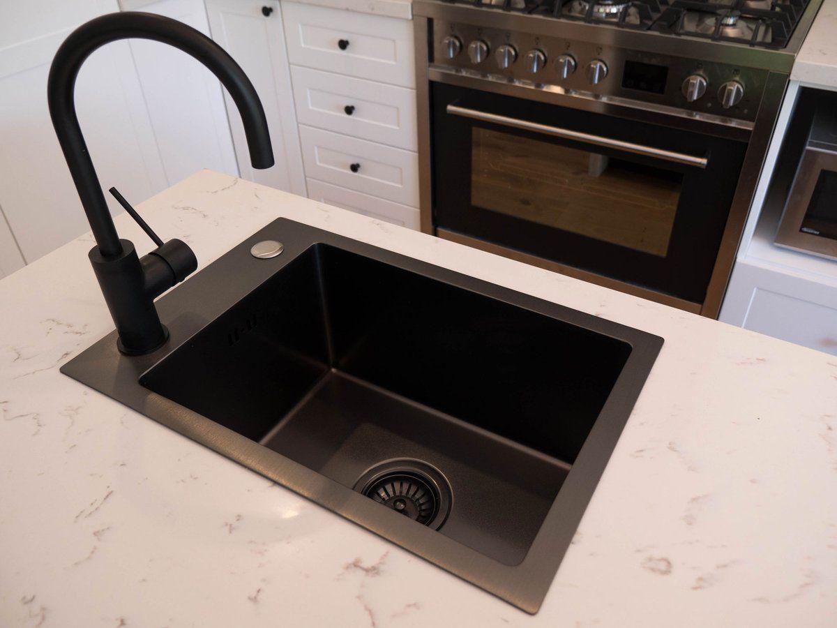 Black Graphite Kitchen Sink Single Bowl Vert Inside Out Sink Kitchen Sink Single Bowl Kitchen Sink