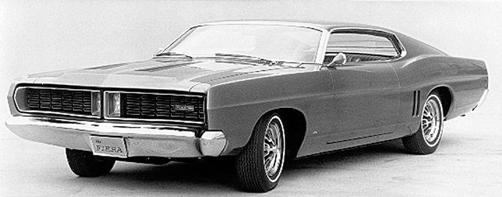 1968 Ford XL-based Fiera Show Car & 1968 Ford XL-based Fiera Show Car | 1960s Prototypes Concepts ... markmcfarlin.com
