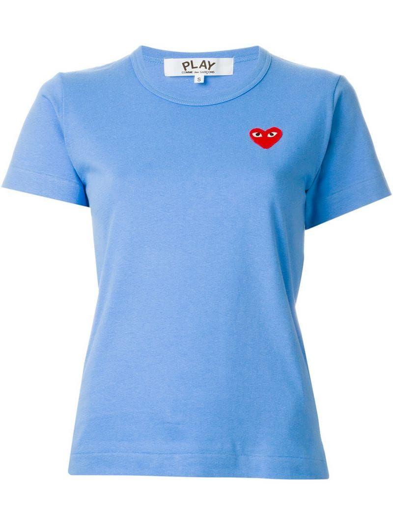 Photo of Comme Des Garçons Play Heart Logo T-shirt – Farfetch