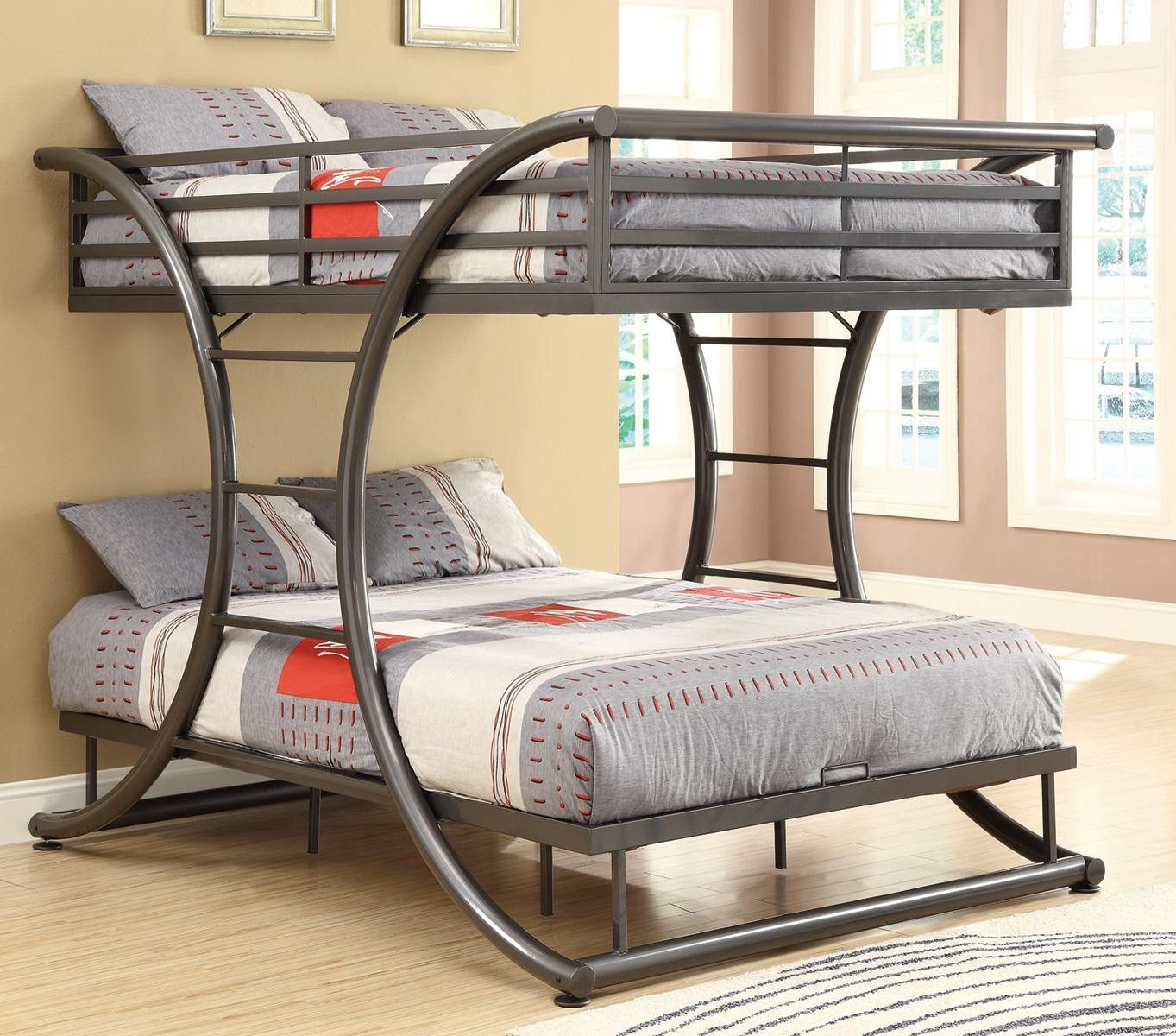Metal Futon Bunk Bed - Metal Futon Bunk Bed Beds Twin Over Double Pinterest Full