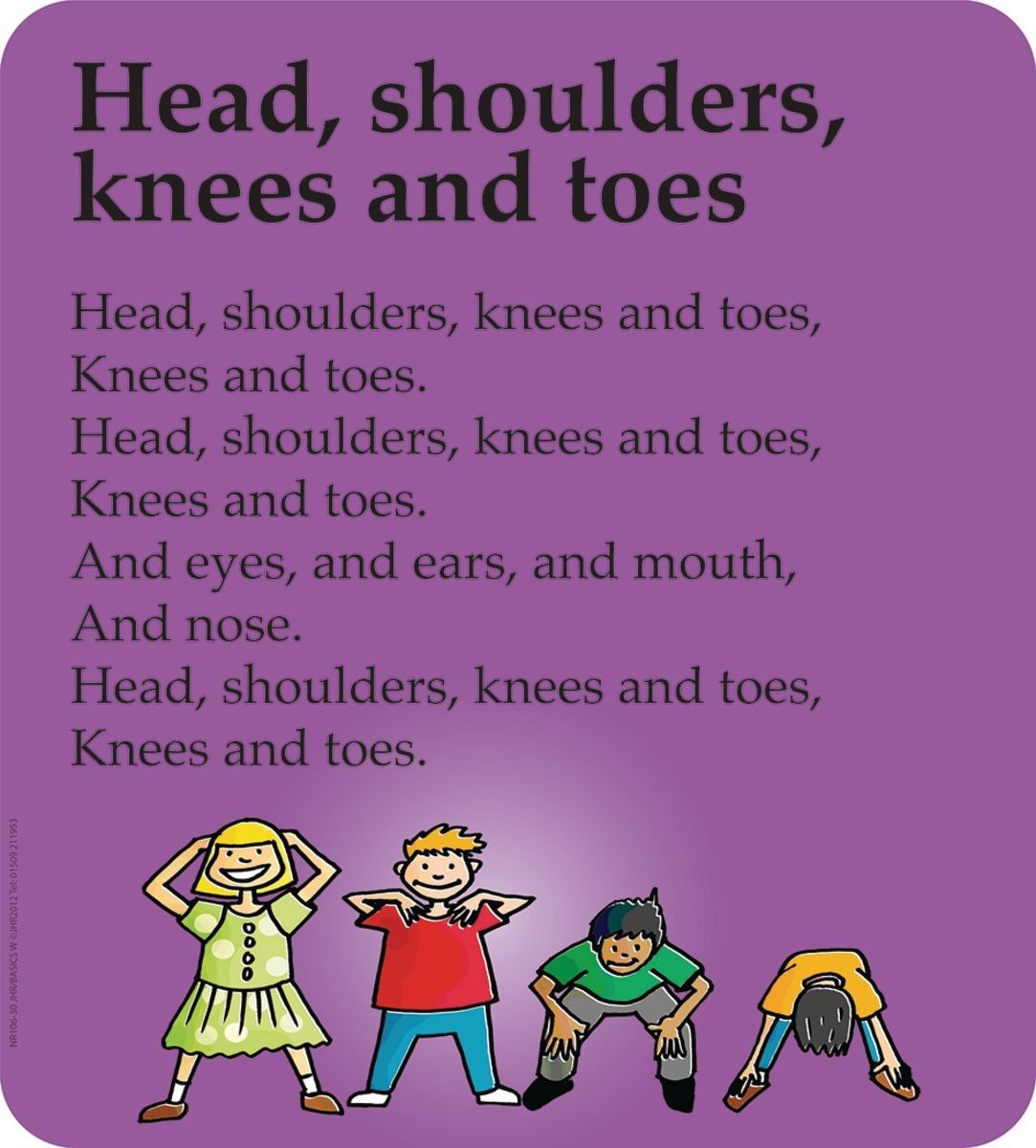 Traditional Nursery Rhyme Signs