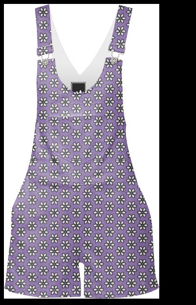 Purple Posies designed by bunhuggerdesign | Print All Over Me