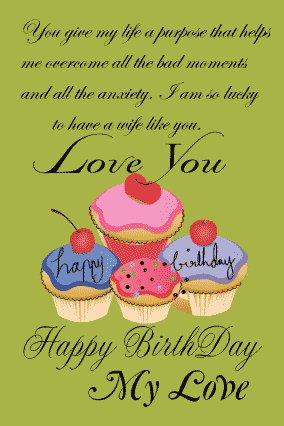 happy birthday letter for wife with your birthday wishes from husband fully customized products free customization layouts huge range of layouts