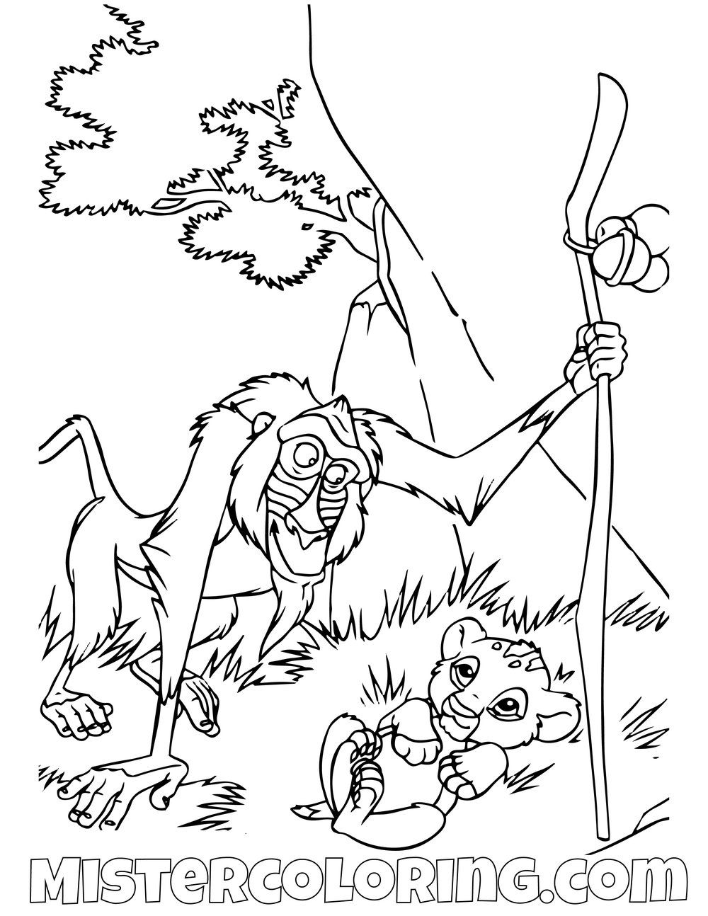 Idea By Mister Cijo On The Lion King Coloring Pages For Kids