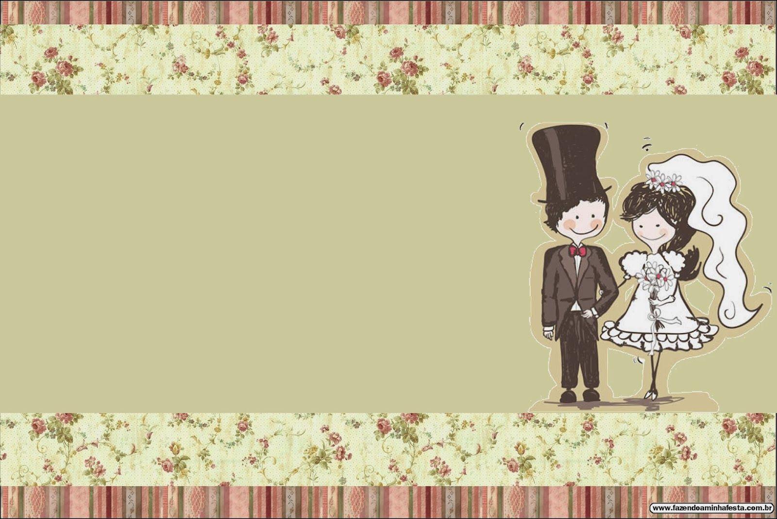 Bodas pareja con fondo provenzal tarjetas o invitaciones - Tarjeta de boda ...