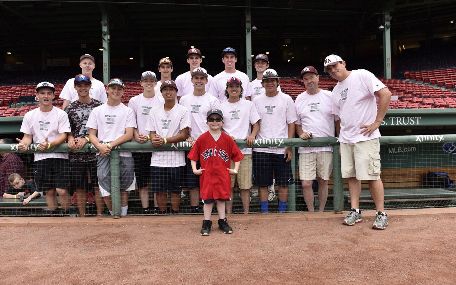 Last year westford academys baseball team raised nearly