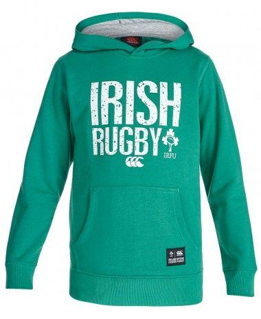 Canterbury Kids Ireland OTH Hoodie - £30 99 | Rugby - Ireland IRFU
