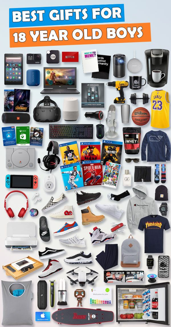 Gifts For 18 Year Old Boys images