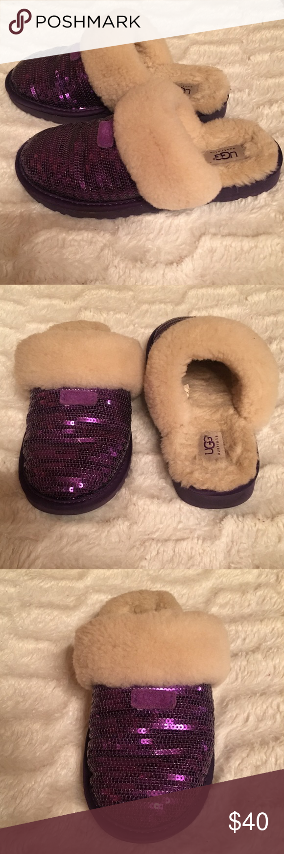 6fe58b48f3f Ugg Dazzle Sequin Slippers! Comfortable! Warm! Your feet will be ...