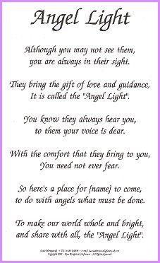 Gaurdian Angel Poems 3