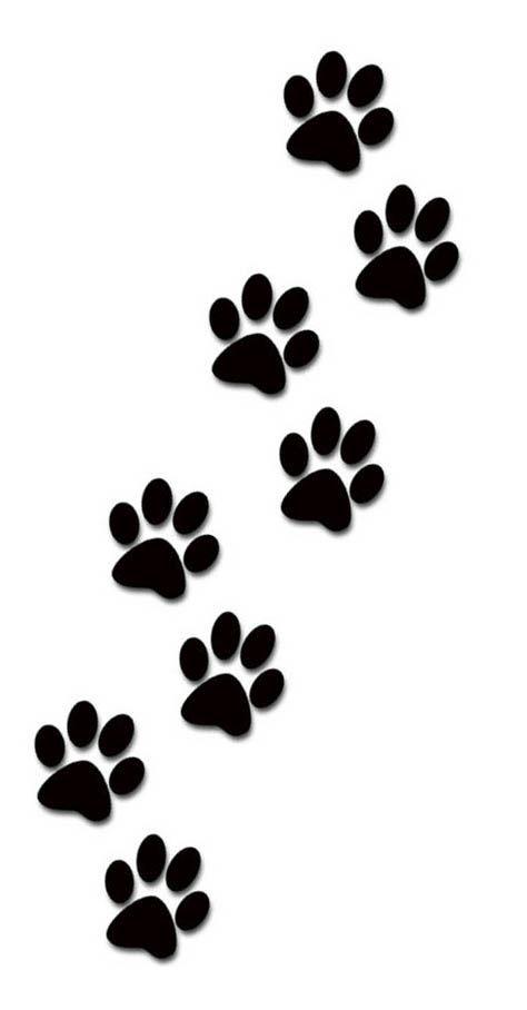 Dog Paw Drawing : drawing, Print, Tattoo, Foot., Pawprint, Tattoo,